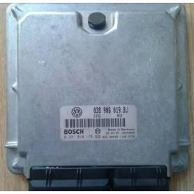 Calculateur moteur ref 038906019BJ / 038906019CD / Ref Bosch 0281010176 / 0 281 010 176