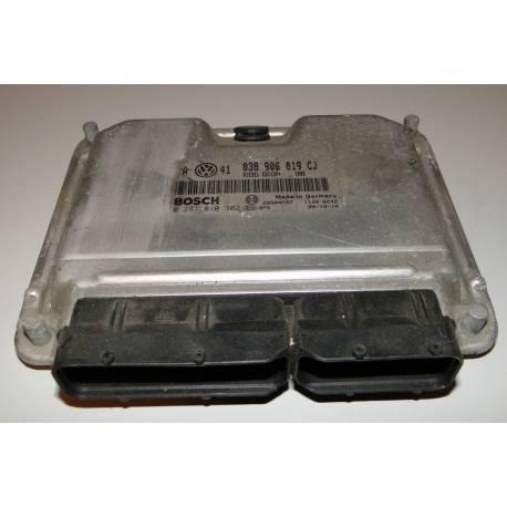 Calculateur moteur 038 906 019 CJ