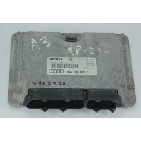 Calculateur moteur ref 06A906018C / 06A906018BS / 06A997018BX / ref bosch 0261204126 / 0261204127