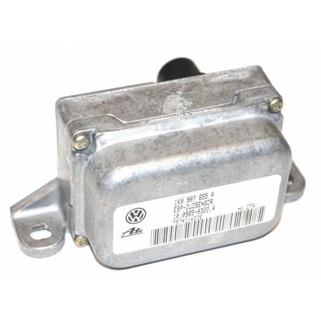 Capteur combiné d'accélération pour Audi / Seat / VW / Skoda ESP G419 ref 1K0907655A / 1K0907655B