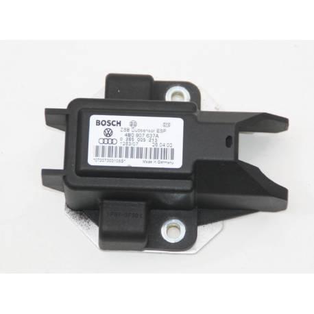 Capteur d'accélération pour Audi A4 / A6 / VW Passat / Transporter 4B0907637A / Ref Bosch 0265005213