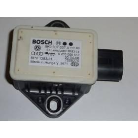 Capteur lacet pour AUDi A5 Ref: 8K0 907 637 A / 8K0 907 637 C ref Bosch 0265005667