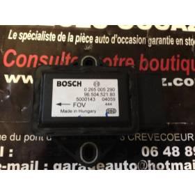Capteur combiné d'accélération ESP Bosch pour Peugeot / Citroën ref 0265005290 / 9650452180