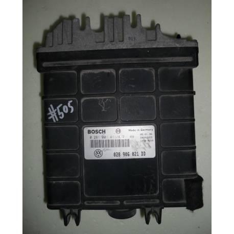 Calculateur injection pour VW Passat 1L9 TDI moteur 1Z ref 028906021DD / 028906021AT / 0281001411/412