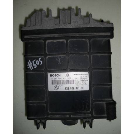 Calculateur injection pour VW Passat 1L9 TDI moteur 1Z ref 028906021DD / 028906021AT / 0281001411/412