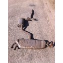 Exhaust line / Front silencer with rear silencer Seat Leon / Altea 2L TDI ref 1K0253411B