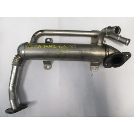 Cooler of exhaust gas with valve for 1L4 TDI motor BMS / BWB ref 045131513M