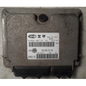 Calculateur moteur pour VW Bora / Golf 4 1L4 essence moteur AHW ref 036906014AN / 61600.497.01
