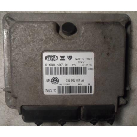 Calculateur moteur pour VW Bora / Golf 4 1L4 essence moteur AHW ref 036906014AN