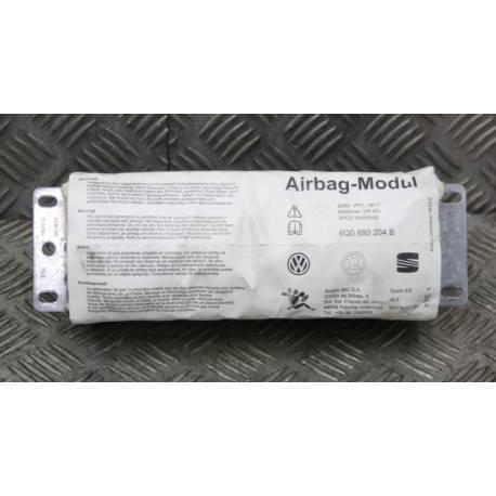 Airbag passager / Module de sac gonflable pour VW / Seat / Skoda ref 6Q0880204B / 6Q0880204E / 6Q0880204F / 6Q0880204G