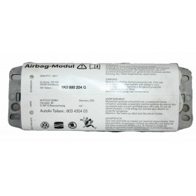 Airbag passager / Module de sac gonflable VW Golf / Jetta / Eos / Scirocco ref 1K0880204G / 1K0880204H / 1K0880204K / 1K0880204L