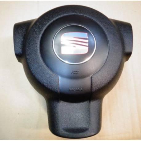 Airbag volant / Module de sac gonflable pour Seat Cordoba / Ibiza 6L ref 6L0880201M / 6L0880201P / 6L0880201AG / 6L0880201AJ