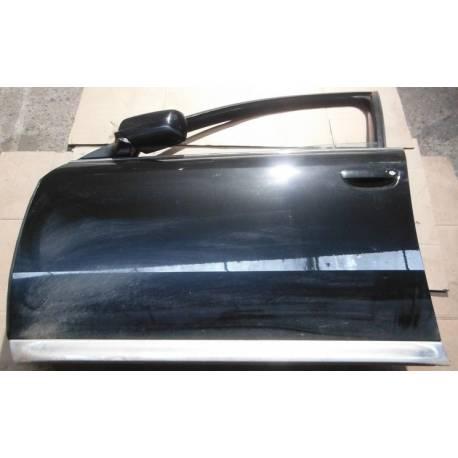Porte avant gauche conducteur coloris noir LZ9W pour Audi A6 4Z Allroad 4Z7831051A