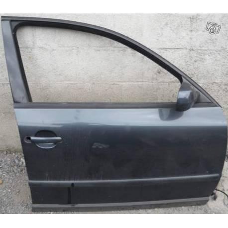 Portière avant passager grise LC7V pour VW Passat 3B