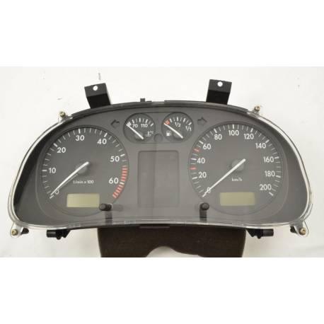 Compteur / combiné porte-instruments pour VW Polo 6N1 ref 6N0919860T / 6N0919860R