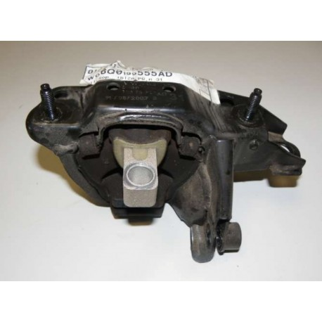 Bloque de apoyo de la caja de cambios / Consola con silent block para VW / Skoda / Seat ref 6Q0199555AD / 6Q0199555AS
