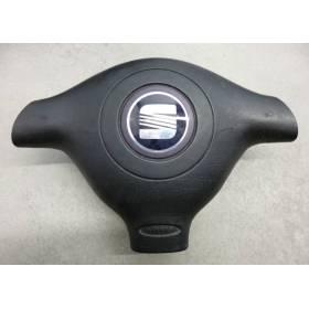 Airbag volant / Module de sac gonflable pour Seat Leon 1 / Toledo ref 1M0880201D