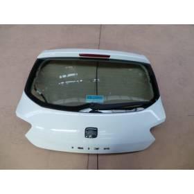Malle arrière / Coffre coloris blanc LB9A pour Seat Ibiza 6J modèle 3 portes ref 6J3 827 024 / 6J3827024