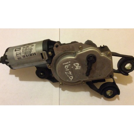Rear windscreen wiper motor for Seat Ibiza 6L ref 6L6955711A / 6L6955711B / Ref Valeo 404.699