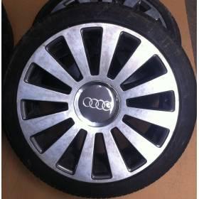 4 Jantes alu Audi A6 4B en 18 pouces Pneus 225 40 18