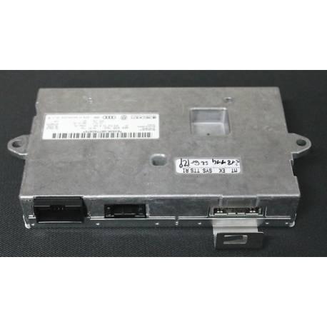 Boitier d'interface avec logiciel / Produit neuf / ref 4F0910731R / 4F0910731RX / 4F0910732HX pour AUDI A6 4F
