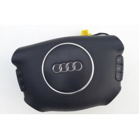 Airbag volant / Module de sac gonflable pour Audi A3 / A4 / A6 / A8 ref 8E0880201F / 8E0880201AF / 8P0880201K / 8P0880201BR