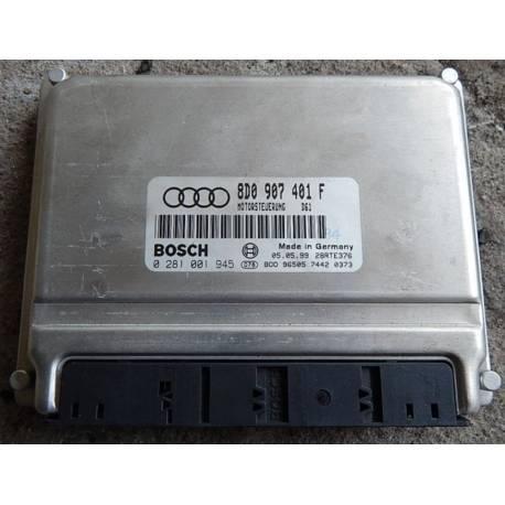 Calculateur moteur pour Audi A4 2L5 V6 tdi 150 ref 8D0907401F ref Bosch 0281001945 / 0 281 001 945