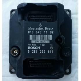 Calculateur pour mercedes W124 W202 E200 C200 écu 018 545 11 32 PMS 0185451132 / 0261200614