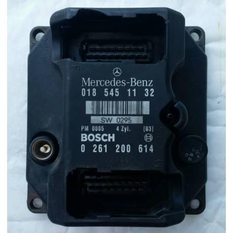 Calculator for  W124 W202 E200 C200 ecu unit motor 018 545 11 32 PMS 0185451132 / 0261200614