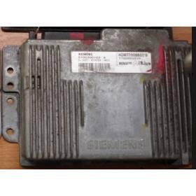 Control del motor para Renault ref Siemens HOM7700860319 / S105300103A