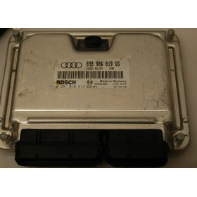 Engine control / unit ecu motor for Audi A4 1L9 TDI 100 cv ref 038906019GG / Ref Bosch 0281010813 / 0 281 010 813