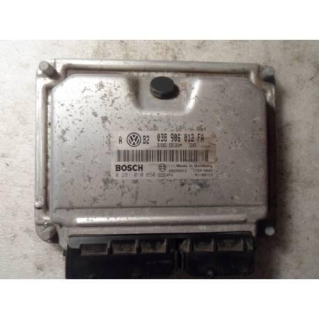Calculateur moteur pour VW Bora / Golf 4 1L9 TDI 90 cv ALH ref 038906012FA / Ref Bosch 0281010650