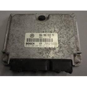 Calculateur moteur pour Skoda Octavia 2L essence AQY ref 06A906018FH / Ref Bosch 0261206266