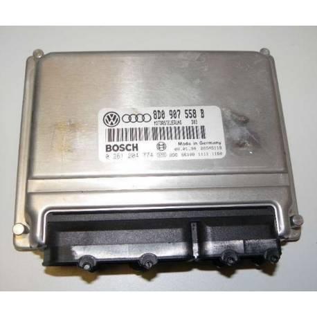 Engine control / unit ecu motor for VW Passat / Audi A4 1L8 gasoline ADR ref 8D0907558B / 8D0997558HX / Ref Bosch 0261204774