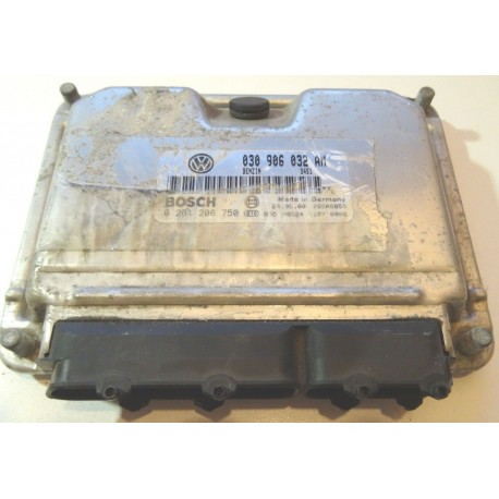Injection engine control for VW Polo 1L0 essence ANV ref 030906032AM / 030906032CE / 030997032HX / 0261206750