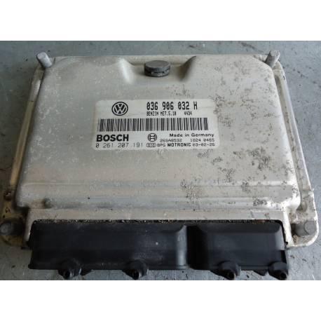 Engine control for Seat Leon / Toledo 1L4 MPI ref 036906032H / Ref Bosch 0261207191
