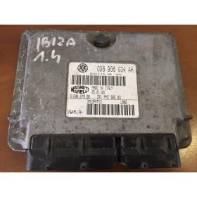 Calculateur moteur pour Seat Ibiza / Cordoba 1L4 16v mpi ref 036906034AH / Ref Magneti Marelli 61600.679.08