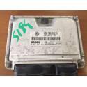 Calculateur moteur pour Seat Leon / Toledo 1L4 MPI AXP ref 036906032M / Ref Bosch 0261207193