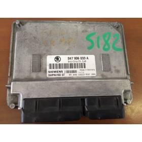 Control motor para Skoda Fabia 1L4 gasolina motor ATZ ref 047906033A / Ref Siemens 5WP44193 07