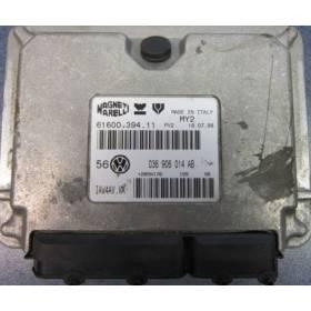 Calculateur moteur pour VW Bora / Golf 4 1L4 MPI moteur AKQ ref 036906014AB / 036906014CF / Ref Magneti 61600.394.11