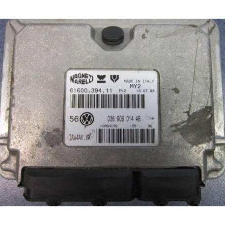 Calculateur moteur ref 036906014AB / 036906014 CF Ref Magneti 61600.394.11