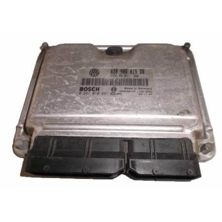 Calculateur moteur pour Seat Ibiza / Cordoba 1L9 TDI 130 cv ASZ ref 038906019DQ / Ref Bosch 0281010891 / 0 281 010 891