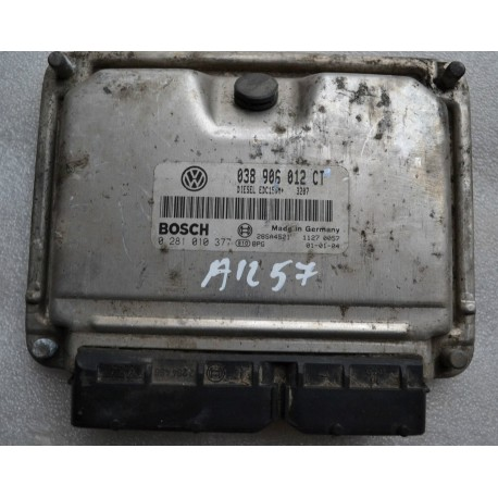 Calculateur moteur pour VW Polo 6N 1L9 diesel SDI ASX ref 038906012CT / Ref Bosch 0281010377