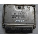 Calculateur moteur pour VW Polo 6N 1L9 diesel SDI ASX ref 038906012CT / Ref Bosch 0281010377