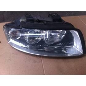 Faro óptico proyector delantero lado pasajero para Audi A4 B6 8E0941004G / 8E0941030D