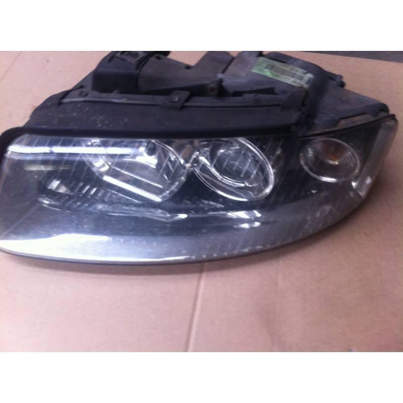 phare optique projecteur avant conducteur pour audi a4 b6 8e0941003g 8e0941029d projecteur. Black Bedroom Furniture Sets. Home Design Ideas