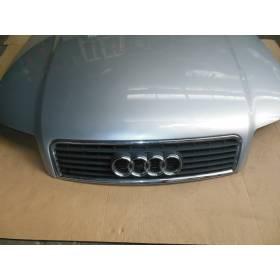 Capot du moteur avant coloris gris clair LY7W  / pour Audi A4 B6 ref 8E0823029