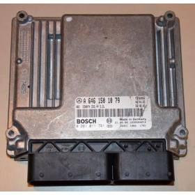 Calculateur moteur pour Mercedes ref A6461501079 / 0281011741