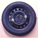 Galette spare wheel for BMW E60 / E61 tire continental 135 / 80 / R17 ref 6758778 / 6 758 778