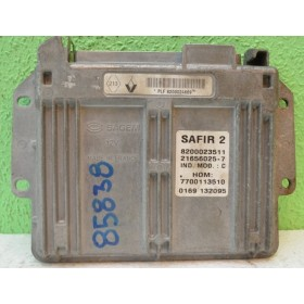 Engine control / Unit ecu motor for Renault Twingo 1L2 ref SAFIR 2 8200024669